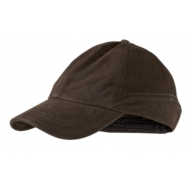Ultimate Læder Cap Shadow Brown