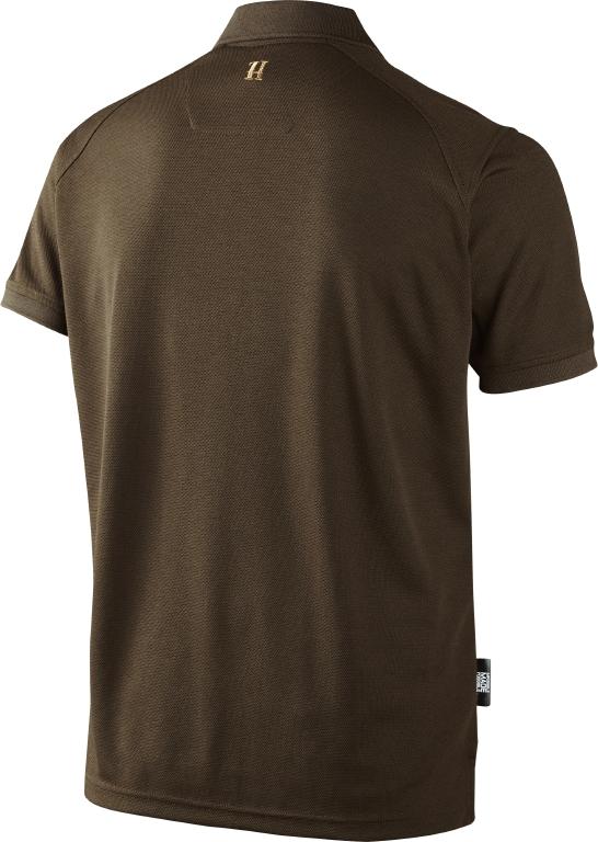 Fugttransporterende og hurtigttørrende baselayer Polo Shirt fra Härkila - Jagtuniverset