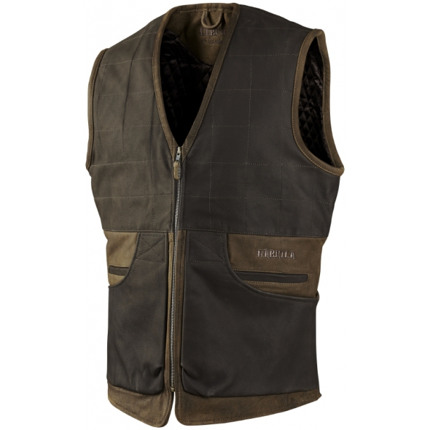 Angus Skindvest Green/Brown