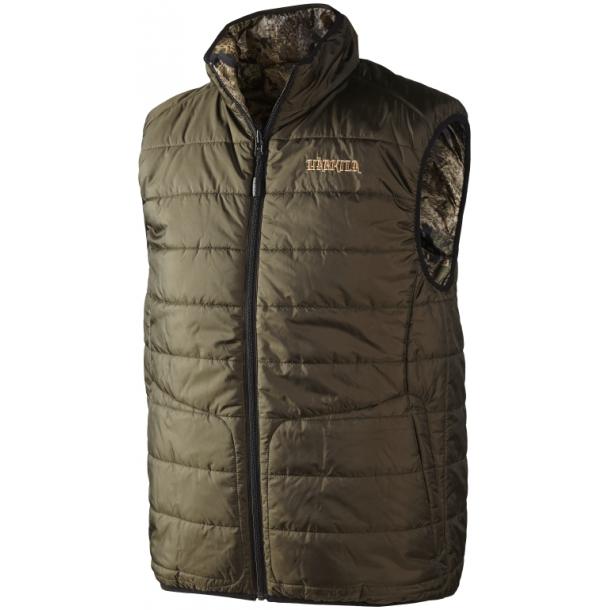 Arvik Reversible Vest Optifade/Hunting green