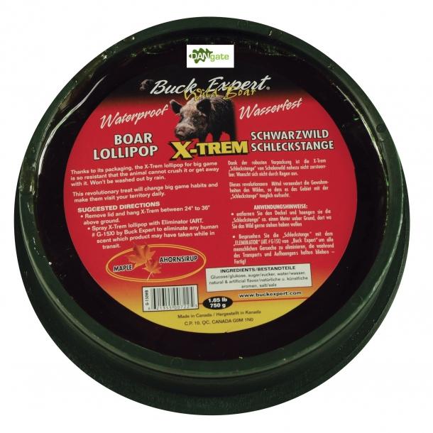 Vildsvin Slikkepind Ahornsmag fra Buck Expert (750 g)