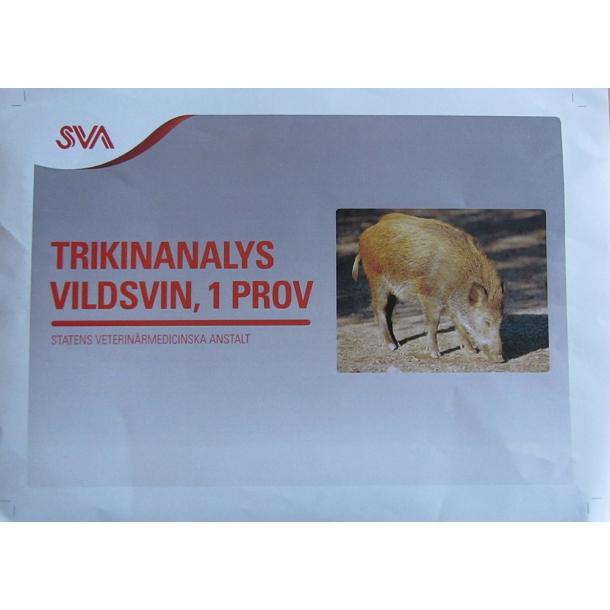 Trikiner/ Trikintest / Trikinkit til Vildsvin/ Trikinprøve/ Trikinkit/Tilbud V/5stk