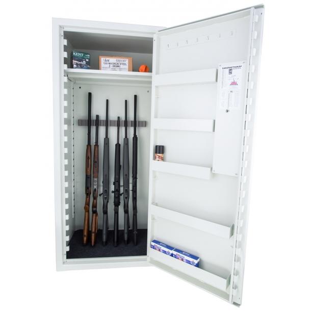 Våbenskab(SP99) 16V, SS3492 godkendt