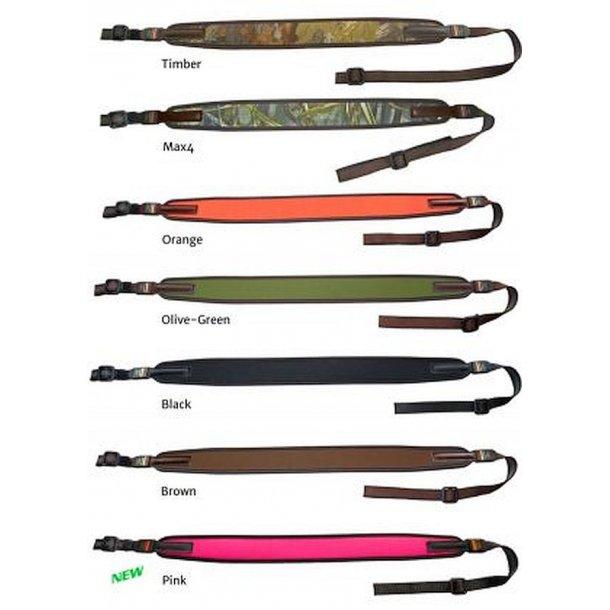 Niggeloh riffelrem i forskellige farver