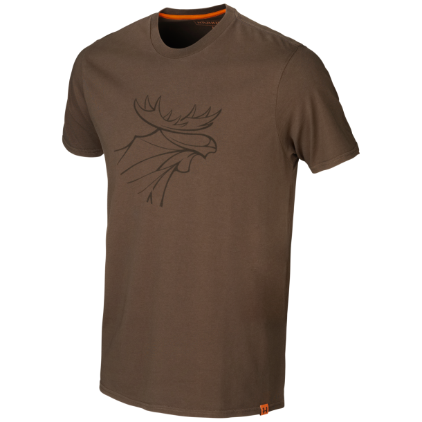 Graphic T-shirt 2-pack Willow Green/Slate Brown