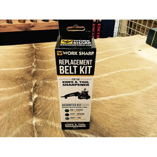 Work Sharp replacement BELT KIT
